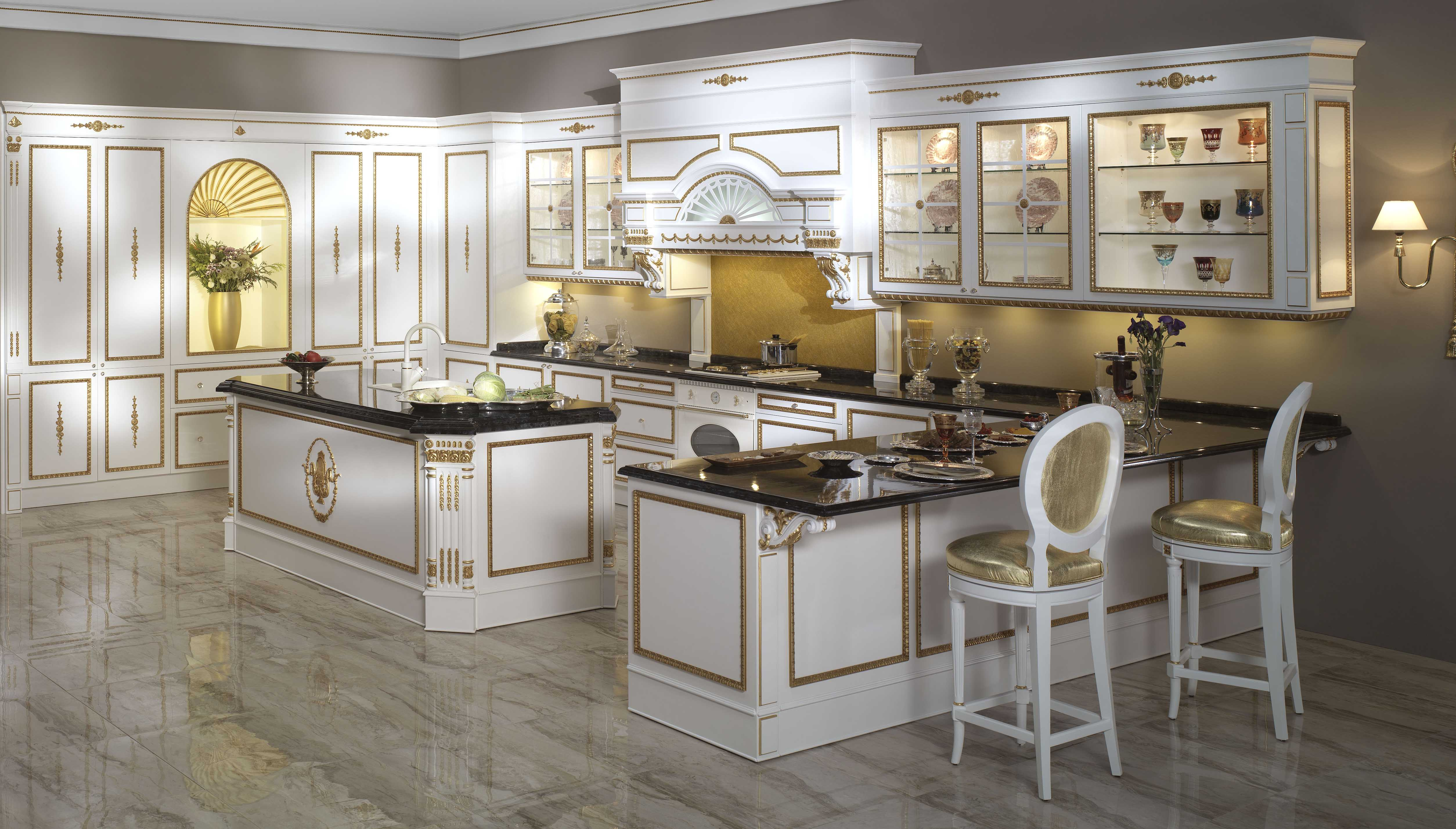 Domotics New Technology And Luxury Kitchens