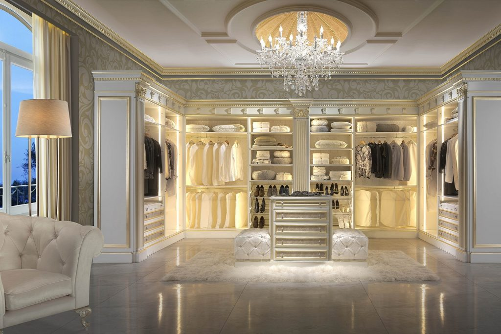 Advantages Of Having A Luxury Dressing Room