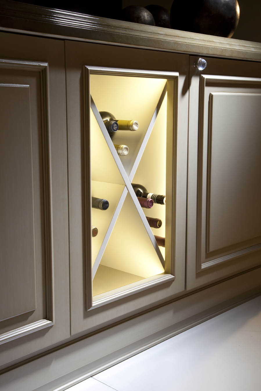 Luxury kitchen with wine cellar 8 reasons you should have one