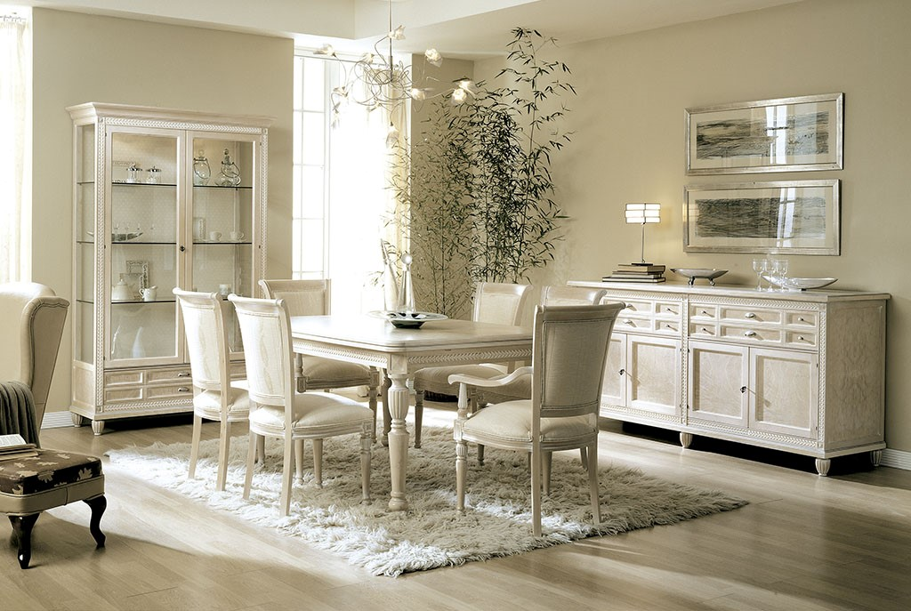 Lys dining room, beauty and luxury in an exquisite living space